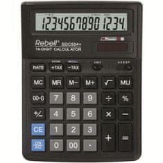 Rebell kalkulator BDC514, czarny (RE-BDC514 BX)