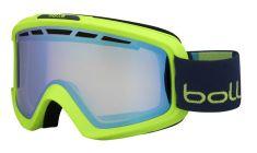 Bollé smučarska očala Nova II Matte Green&Blue Aurora