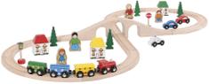 Bigjigs Rail Vláčkodráha - Osmička 40 dílů