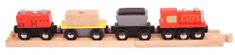 Bigjigs Rail Nákladný vlak + koľaje