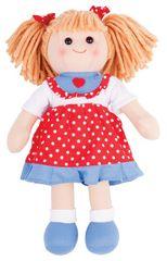Bigjigs Toys Látková bábika Emily 35 cm