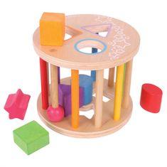 Bigjigs Toys Valec s tvarmi
