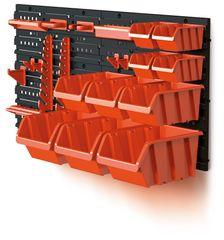Prosperplast organizer z pojemnikami do zawieszenie Orderline 4