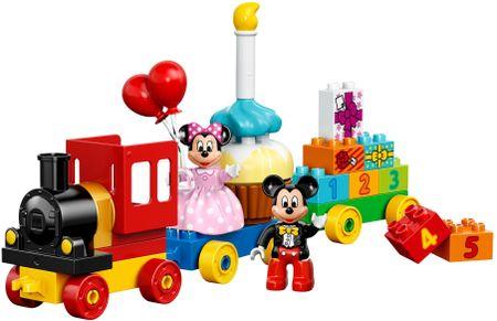 LEGO DUPLO® Disney Mickey & Minnie születésnapi felvonulása