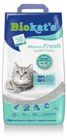 Biokat's Bianco Fresh macskaalom, 10 l