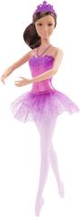 Mattel Balerína fialová