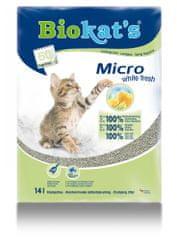 Gimpet stelja Biokat's Micro White Fresh, 14 l