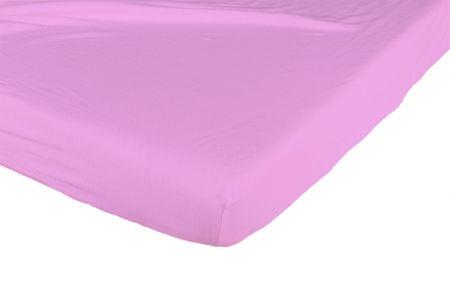 Candide Prześcieradło bawełniane 130g/m² 70x140 cm malinowe