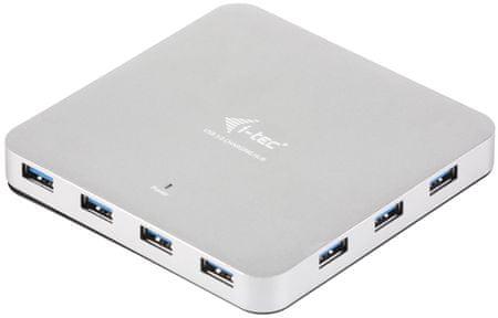 I-TEC USB 3.0 Metal HUB 10 port tápellátással