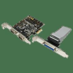 LogiLink PCIe kontroler 2x serijski COM + 1x Paralel PC0033