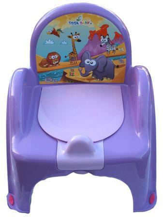 COSING Nočník - stolička, fialová