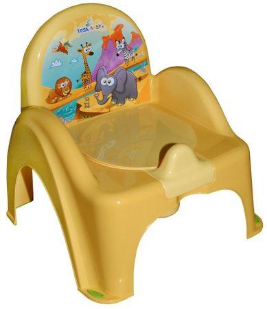 COSING Nočník - stolička (hracia), žltá