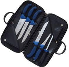 KDS torbica z mesarskimi noži Profi Line, modri