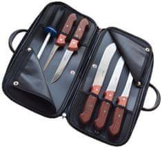 KDS set 5 mesarskih nožev in brusilne palice