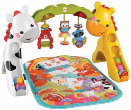 Fisher-Price Mata Żyrafa i Zebra CCB70