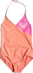 Roxy jednodijelni kupaći kostim One Piece G za djevojčice, Sunkissed Coral