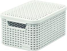 CURVER Rattan Style box s vekom S