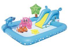 Bestway 53052 bazénik so šmýkačkou 239x206x86 cm