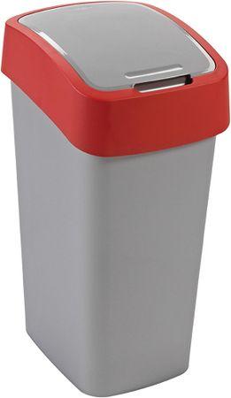 CURVER Kosz na śmieci Flip Bin 50 l czerwony