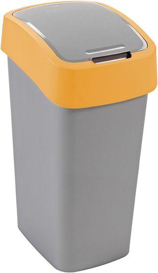 Curver Odpadkový koš Flip Bin 50 l oranžový