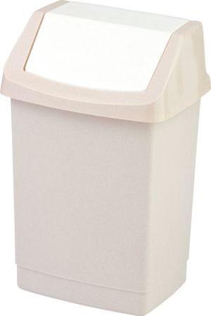 Curver Odpadkový koš Click 25 l béžový