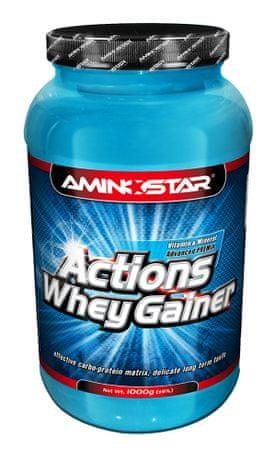Aminostar Whey Gainer Actions, 2250g Čokoláda