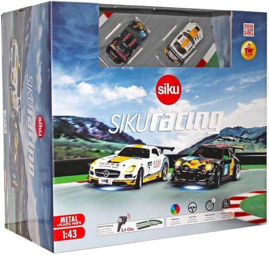 SIKU Racing - závodný set vrátane príslušenstva