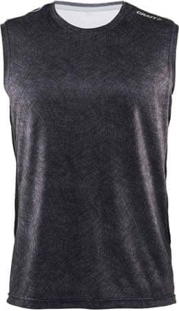 Craft majica bez rukava Scampolo Mind, crna, M
