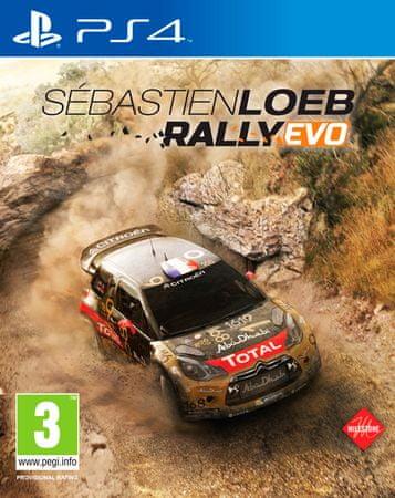 Milestone Sebastian Loeb Rally EVO PS4