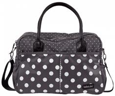 Bebe-jou torba za previjanje Luxury Bag Grey Dots