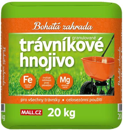 Bohatá zahrada za travo gnojilo, 20 kg - Odprta embalaža2