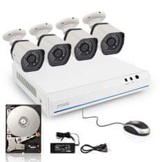 Zmodo system kamer 720P sPoE 4CH NVR+4xIP CAM+1TB HDD 2.gen.(UMNP10062)