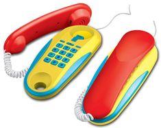 Wiky Telefony stacjonarne na baterie 2 sztuki