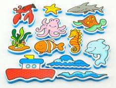Teddies BABY Vodolepky Moje první zvířátka - oceán
