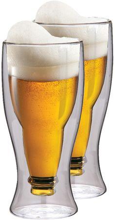 MAXXO termo kozarci Beer 350 ml, 2 kosa