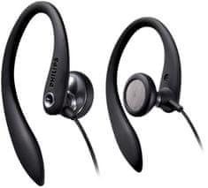 Philips SHS3300BK sluchátka pecky