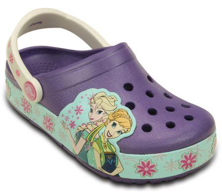 Crocs CrocsLights FrozenFever Clog K Blue Violet 23-24 (C7)
