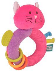 Fiesta Crafts Hrkálka s hryzátkom - Mačička