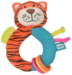 Fiesta Crafts Hrkálka s hryzátkom - Tiger