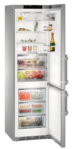 Volně stojící kombinovaná chladnička Liebherr CBNPes 4858 madlo