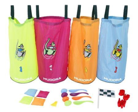 Hudora skakalne vreče - otroški set za zabavo, 4 kos
