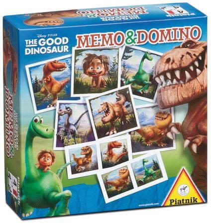 Piatnik Memo és Domino Good Dinosaur - Magyar nyelvű