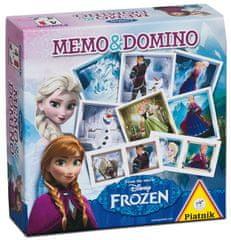 Piatnik Pexeso a Domino Ledové království