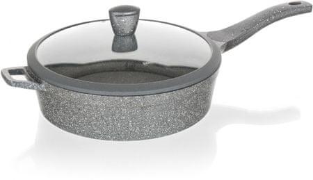 Banquet globoka ponev s pokrovom GRANITE, 28 cm