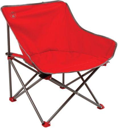 Coleman Kick Back Chair PDQ, piros