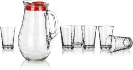 Pasabahce set za posluživanje pića Toros, 7 komada