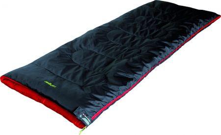 High Peak spalna vreča Ranger, sivo-rdeča