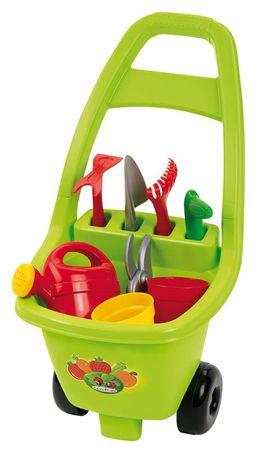 ECOIFFIER Wózek z narzędziami ogrodowymi, konewką i doniczkami