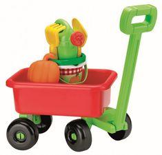 Ecoiffier Retro vozík s konvičkou