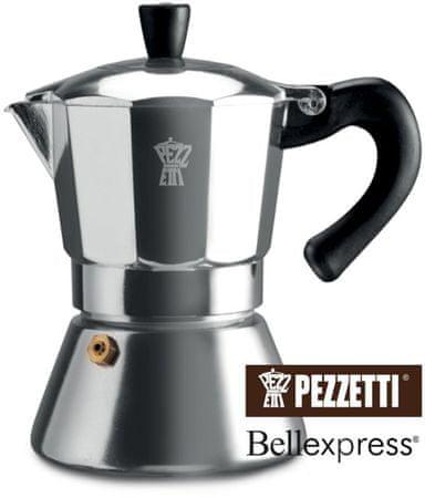 Pezzetti Bellexpress Kávéfőző, 6 személyes